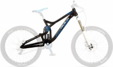 Whizz 90 DH Frame Set